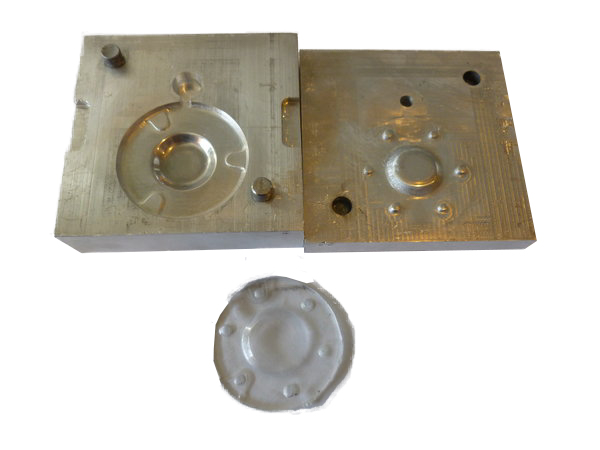 A mold for a gasket of an instrument